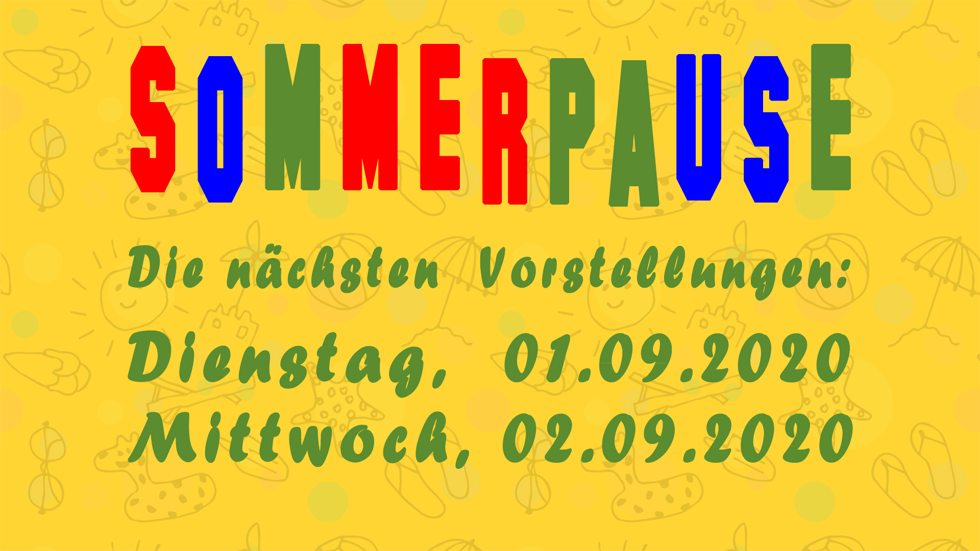 Sommerpause 2020 01